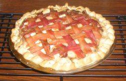 apple bacon pie