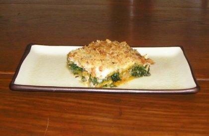 fall vegetarian lasagna