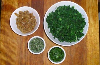 kale onions sage parsley