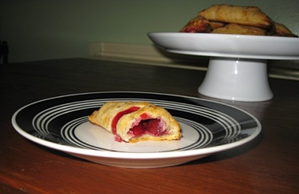 cherry hand pie middle