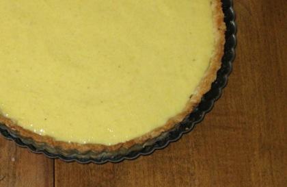 gooseberry curd tart